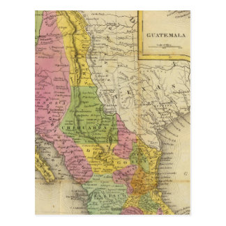 Mexico and Guatemala 2 Postcard