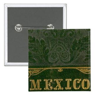 Mexico and Guatemala Button