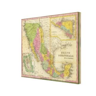 Mexico and Guatemala Canvas Print