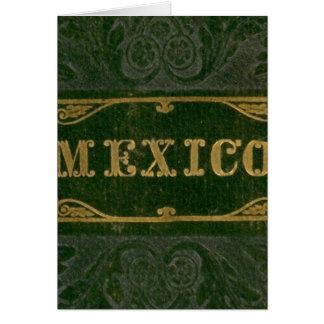 Mexico and Guatemala Card