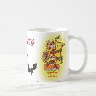 Mexico and Quetzalcoatl mug