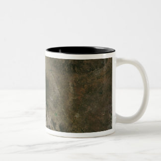 Mexico and the southwestern United States Two-Tone Coffee Mug