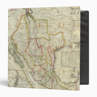 Mexico and United States 2 Vinyl Binders