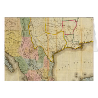 Mexico and United States Greeting Card