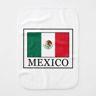 Mexico Baby Burp Cloth