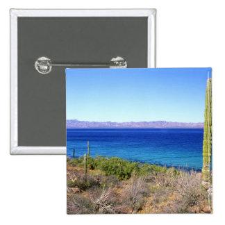 Mexico, Baja California Sur, Mulege, Bahia 2 Button