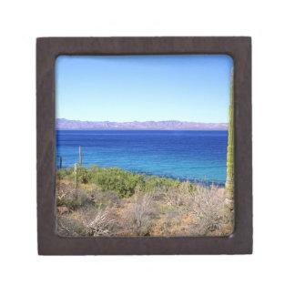 Mexico, Baja California Sur, Mulege, Bahia 2 Keepsake Box