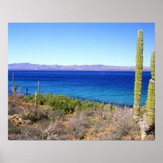 Mexico, Baja California Sur, Mulege, Bahia 2 Poster