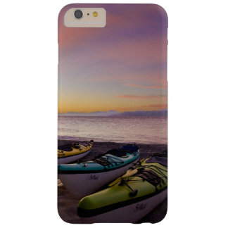Mexico, Baja, Sea of Cortez. Sea kayaks and Barely There iPhone 6 Plus Case