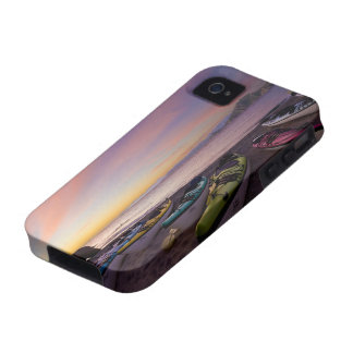 Mexico, Baja, Sea of Cortez. Sea kayaks and iPhone 4/4S Cover