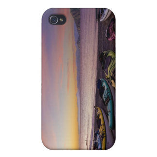 Mexico, Baja, Sea of Cortez. Sea kayaks and iPhone 4 Case
