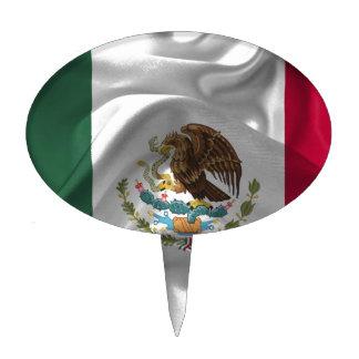 México-Bandera Decoración Para Tarta