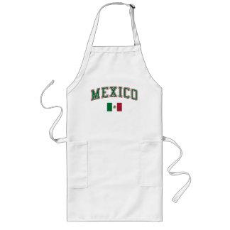 México + Bandera Delantales