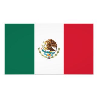 México - bandera mexicana cojinete