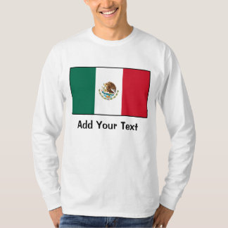 México - bandera mexicana playera