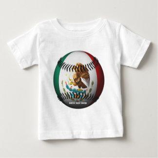 Mexico Baseball Baby T-Shirt
