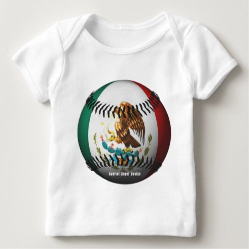 Mexico Baseball Baby T_Shirt