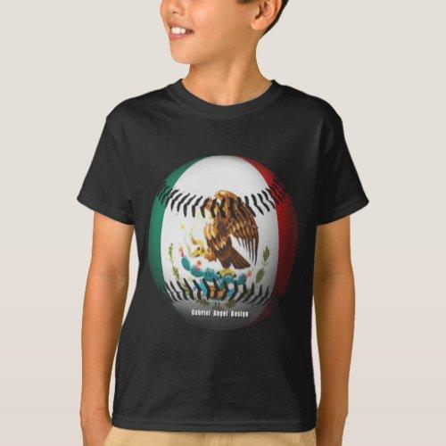 Mexico Baseball T_Shirt