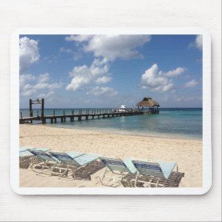 Mexico Beach Scene Mouse Pad