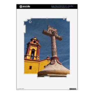 Mexico, Bernal. View of Iglesia de San Sebastian Decals For iPad 3