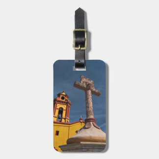 Mexico, Bernal. View of Iglesia de San Sebastian Luggage Tag