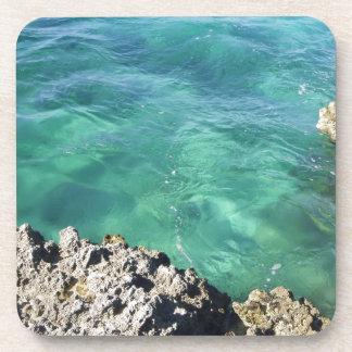 Mexico Blue/Green Ocean Drink Coasters