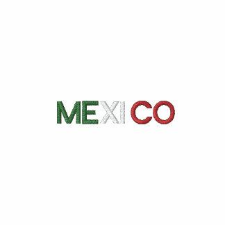 México bordó blanco para hombre del polo