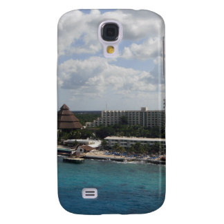 Mexico buildings and ocean galaxy s4 cover