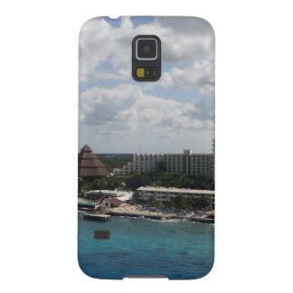 Mexico buildings and ocean case for galaxy s5