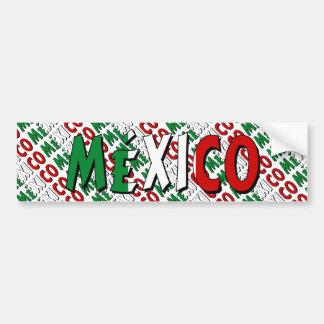 México Bumper Sticker