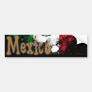 México Pegatina De Parachoque