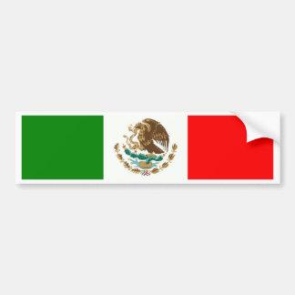 México Etiqueta De Parachoque