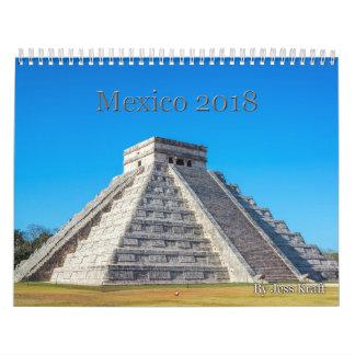 Mexico Calendar 2018