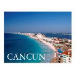 México, Cancun, vista aérea de hoteles Postales