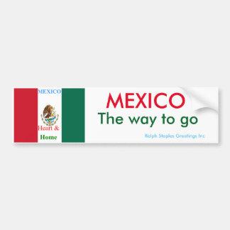 Mexico Car Bumper Sticker