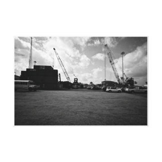 MEXICO Cargo site Stretched Canvas Print