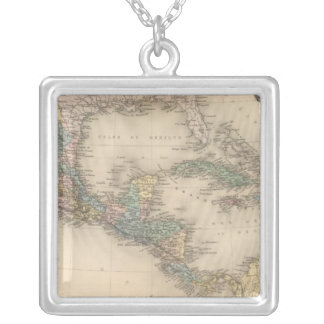 Mexico, Central America and Caribbean Silver Plated Necklace