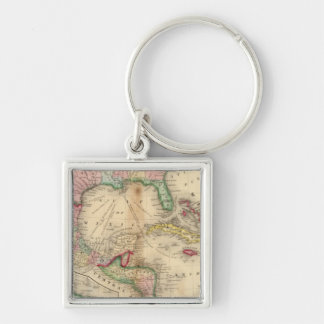 Mexico, Central America, West Indies Keychain