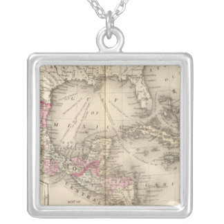 Mexico, Central America, West Indies Silver Plated Necklace
