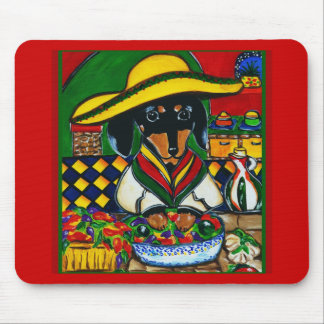 Mexico  Chef Doxie Mouse Pad