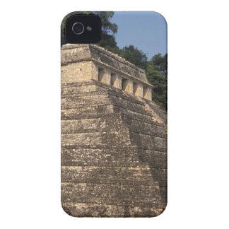 Mexico, Chiapas province, Palenque. Temple of 2 iPhone 4 Case