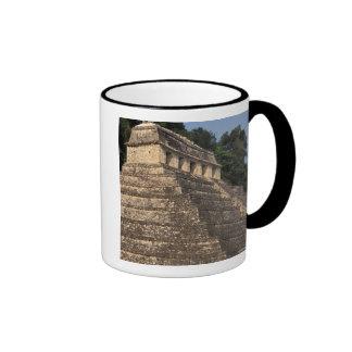 Mexico, Chiapas province, Palenque. Temple of 2 Mugs
