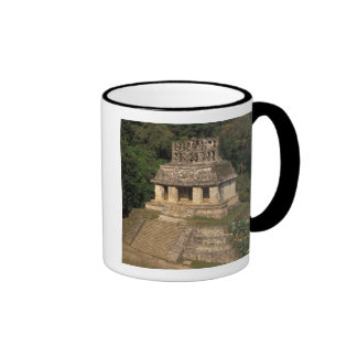 Mexico, Chiapas province,  Palenque, Temple of Ringer Coffee Mug