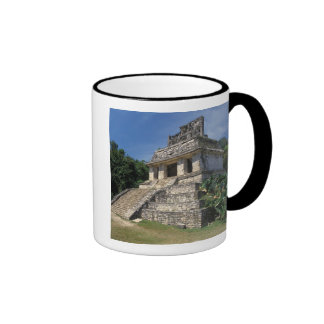 Mexico, Chiapas province, Palenque. Temple of Ringer Coffee Mug