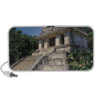 Mexico, Chiapas province, Palenque. Temple of Mini Speakers