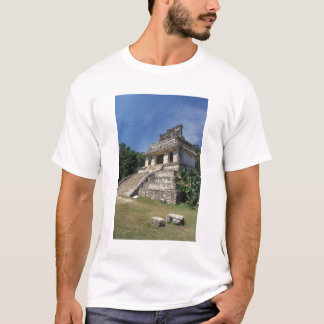 Mexico, Chiapas province, Palenque. Temple of T-Shirt