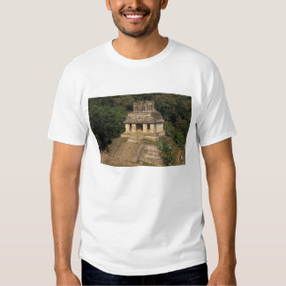 Mexico, Chiapas province,  Palenque, Temple of Tee Shirt