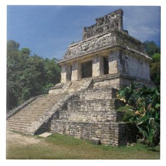 Mexico, Chiapas province, Palenque. Temple of Large Square Tile