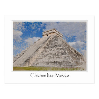 Mexico Chichen Itza Mayan Temple Postcard