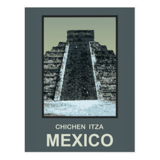 Mexico Chichen Itza Postcard